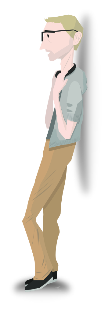 092714a Vector Self-Portrait
